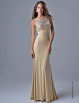 Nina Canacci - 8038 Dress in Champagne