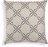 Charter Club Damask Designs Cotton Outlined Geo European Sham, Created for Macy's Bedding