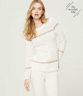 LOFT Serenade Stripe Sweater
