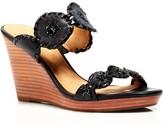 Jack Rogers Luccia Platform Wedge Slide Sandals