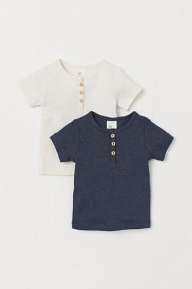 H&M 2-pack Cotton T-shirts