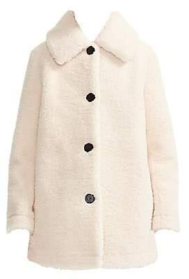 Maje Women's Gatino Faux Fur Coat