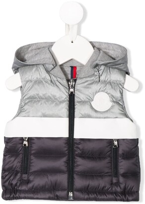 Moncler Enfant Padded Hooded Gilet