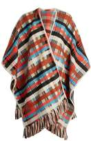 Missoni Checked wool and alpaca-blend wrap