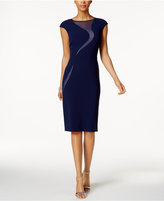 Jax Illusion Swirl Sheath Dress