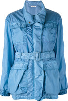 Tomas Maier denim belted coat - women - Polyamide - 4