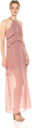 BCBGeneration Women's Bodice Overlay Maxi Dress