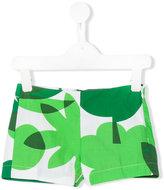 Il Gufo botanical print shorts