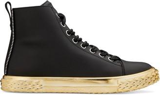 Giuseppe Zanotti Blabber contrasting-sole high-top sneakers