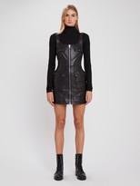 Ksubi Phantom Leather Mini Dress