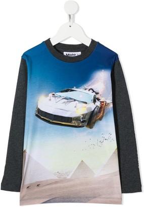 Molo Car Print Sweatshirt