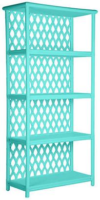 David Francis Furniture Casablanca Etagere - Turquoise