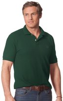 Chaps Men's Solid Pique Polo