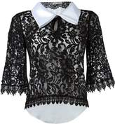 Martha Medeiros lace blouse