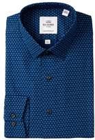 Ben Sherman Floral Print Tailored Skinny Fit Dress Shirt