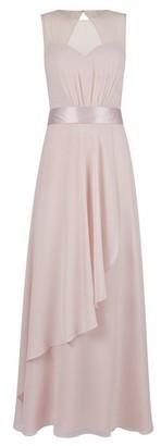 Dorothy Perkins Womens **Showcase Blush 'Mirella' Sheer Panel Maxi Dress