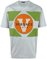 Versace 1978 print T-shirt - men - Cotton - S