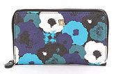 Kate Landry Cabana Floral Zip-Around Wallet