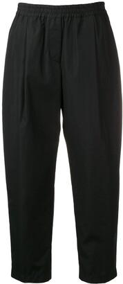 Aspesi High-Rise Cropped Trousers