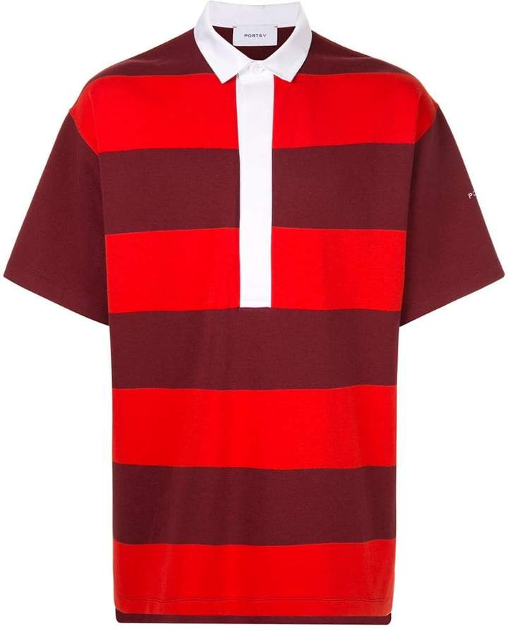 b7e708c80 Polo With Red Collar - ShopStyle