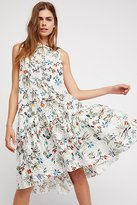 Free People True Tomboy Printed Midi Dress