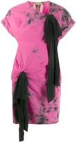 No.21 tie-dye T-shirt dress