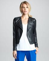 Vince Zigzag-Trim Leather Jacket (Stylist Pick!)