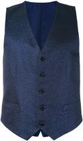 Canali formal waistcoat - men - Silk/Polyamide/Cupro/Metallic Fibre - 46