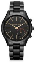 Michael Kors Access Slim Runway Black IP Stainless Steel Hybrid Smartwatch