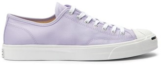 Converse Jack Purcell Twill Trainers - Purple