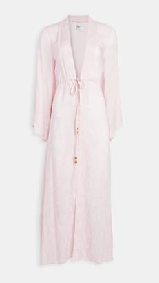 Plush Bandana Kimono