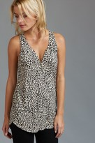 Dynamite Henley Tank with Zip