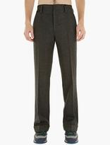 Marc Jacobs Grey Wide-leg Wool Trousers