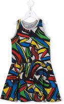 Stella McCartney Mimosa print strokes dress