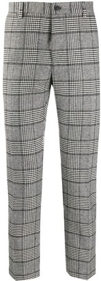 Dolce & Gabbana Check Mid-Rise Trousers