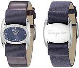 Salvatore Ferragamo Women's FIE040015 VARINA Analog Display Quartz Purple Watch