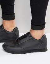 Asos Sneakers in Black Nylon