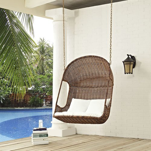 Modway Vintage Swing Chair with Stand