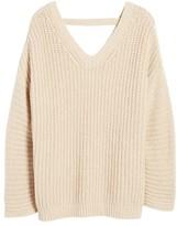 Velvet by Graham & Spencer Women's V-Back Sweater