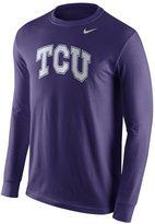 Nike Men's TCU Horned Frogs Wordmark Tee
