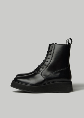 Rachel Comey Women's Halt Boot in Black Size 6 Leather/Synthetic/Rubber