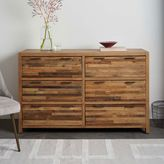 Bay Reclaimed Pine 6-Drawer Dresser - Rustic Natural