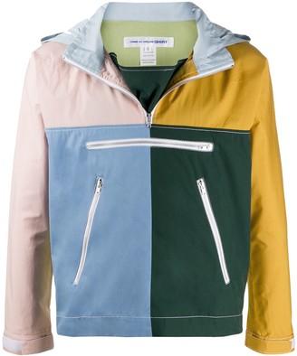 Comme des Garcons colour-block jacket