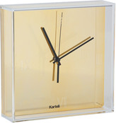 Kartell Tic & Tac Wall Clock - Gold