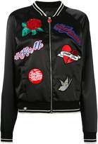 Philipp Plein embroidered bomber jacket
