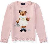 Polo Ralph Lauren Bear Cotton-Blend Sweater