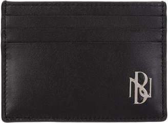 Neil Barrett Metal Monogram Credit Card Holder