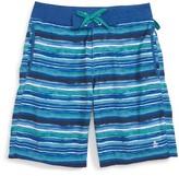 Original Penguin Boy's Water Stripe Board Shorts