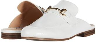 Steve Madden Kandi Slip-On Mule (White Lizard) Women's Shoes