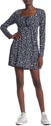 Cotton On Yasmine Long Sleeve Mini Dress